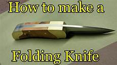 Messer Selber Bauen - how to make a folding knife template
