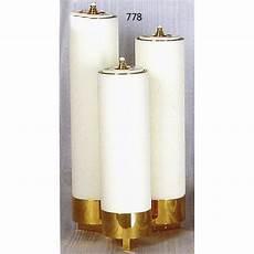 candele finte candelieri 3 fiamme a scala con finte candele 248 6