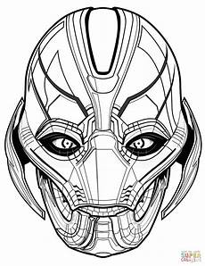 avengers ultron coloring page free printable coloring pages