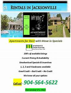 Apartment Rent Specials by Apartments For Rent With Move In Specials Jacksonville