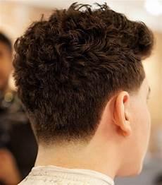 Fade Curly Haircut