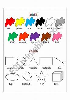 colors shapes worksheets 12808 colors shapes esl worksheet by asrarmh