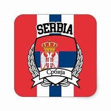 serbia square sticker zazzle in 2019 stickers
