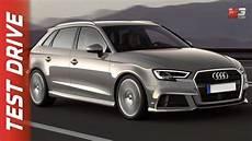 New Audi A3 Sportback 2017 Test Drive Ita