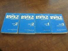 online service manuals 1992 ford f250 auto manual 3 1992 ford f150 350 truck bronco ranger oem specification book service manual ebay