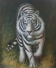 Jual Lukisan Harimau Putih Di Lapak Angga Bayudi Anggabayudi