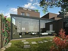 terrassendach 5 x 3 m alu anthrazit vsg glas 8mm terrasse