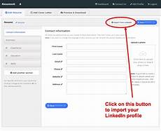 import resume linkedin not working convert your linkedin profile to a beautiful resume