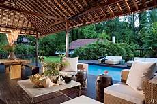 28 luxurious indoor outdoor rooms photos architectural digest