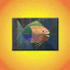 Jual Hm121 Lukisan Ikan Abstrak Di Lapak Lukisan Murah