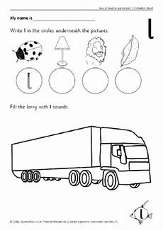 letter l sound worksheets 24492 letter l phonics activities and printable teaching resources sparklebox