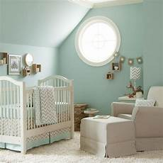 bedroom photograph neutral natural white design baby nursery with framed window plus blue
