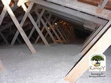 isolation des toitures en combles perdus