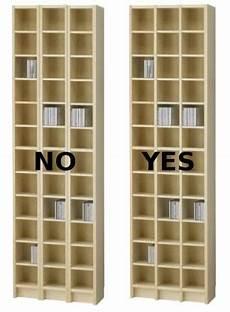 Improved Ikea Benno Cd Shelf 6 Steps