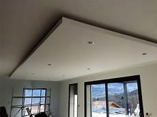 Faux Plafond En Ba13 Avec Spots Int 233 Gr 233 S En 2019 Plafond