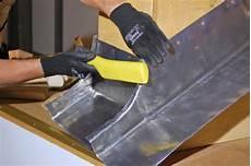 Schornsteinverwahrung Mit Der Falztechnik Bauhandwerk