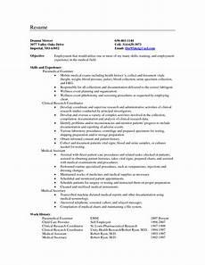 medical resume objective exles carolina resume objective exles resume
