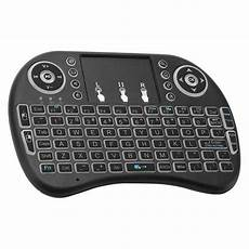 Backlit Wireless Touchpad Mini Keyboard by I8 Backlit Mini Wireless Keyboard Touchpad Black Free