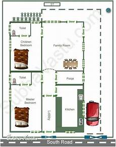 vastu house plan for south facing plot south facing home vastu plan indian house plans
