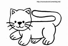 dessin facile chat coloriage chat facile 224 d 233 couper dessin gratuit 224 imprimer