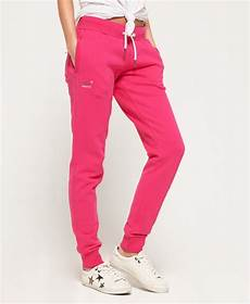 superdry orange label slim jogginghose damen jogginghosen
