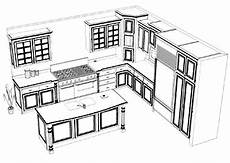 Kitchen Design Drawings by Computer Aided Drawings 3d Kitchen Design Collaroy Kitchen