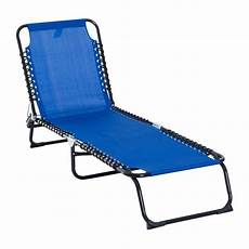 position chaise longue shop outsunny 3 position portable reclining chaise