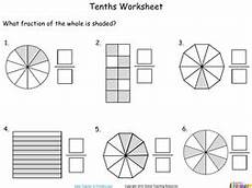 tenths number fractions year 3 teaching resources