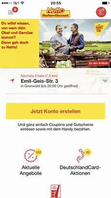 netto app per lastschrift an der kasse zahlen