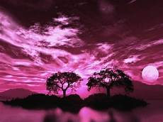 pink moon wallpaper pink moon sky abstract background wallpapers