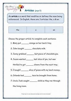 articles grammar worksheets for grade 1 25170 grade 3 grammar topic 34 articles worksheets lets knowledge articles worksheet