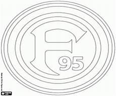 Ausmalbilder Fussball Wappen Bundesliga Ausmalbilder Fahnen Und Embleme Der Deutschen Fu 223 Liga