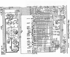 electrical wiring diagram of 1961 chevrolet corvair auto
