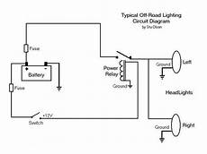 wiring diagram for led offroad lights off road lights wiring questions jeepforum com