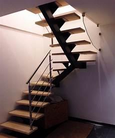 escalier limon central lapeyre escalier limon central 2 quarts tournants divinox