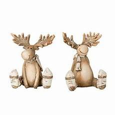 2 st 252 ck elch figuren 8 5 cm braun weihnachten dekoration