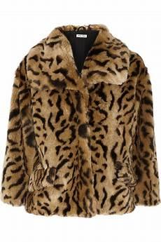 jaguar fur coat miu miu jaguar print faux fur jacket net a porter