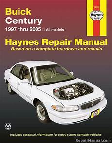 what is the best auto repair manual 2005 haynes buick century 1997 2005 car repair manual