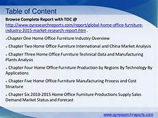 Office Furniture Industry Analysis global home office furniture market 2015 industry analysis