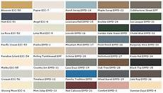 country color schemes behr paints chip color swatch sle and palette home depot
