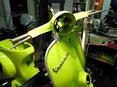 restauro vespa 50 l del 1968 verde mela a gallarate youtube