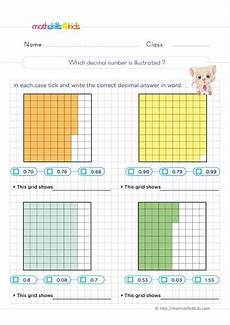 decimal square worksheets 7298 decimal practice worksheets for 6th grade 6th grade decimals exercises with answers including