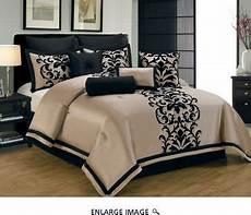 10 piece king dawson black and gold comforter ideas