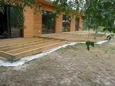 Construction D Une Terrasse En Bois Construction D Une Terrasse En Bois Assemblage Du Solivage
