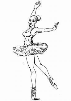 Ausmalbilder Zum Ausdrucken Kostenlos Tanzen Ballerina 6 Ausmalbilder Kostenlos