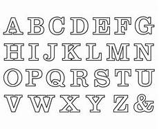 Buchstaben Ausmalbilder Zum Drucken Buchstaben Zum Ausdrucken Ausmalbilder Fonts
