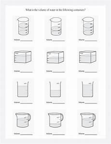 read the volume in these containers in liters by analyzing