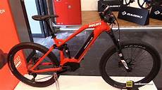 e bike 2018 2018 ducati e mtb fs electric mountain bike walkaround