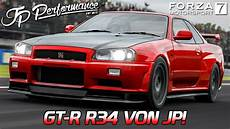gt r r34 jp forza motorsport 7 german gameplay