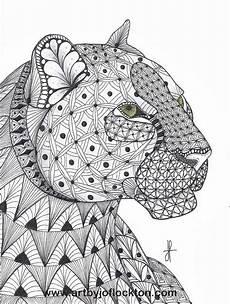 Ausmalbilder Erwachsene Leopard Tangled Leopard Original 19 25 Ausmalbilder